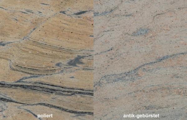 Terrassenplatten Granit Prado Gold 1