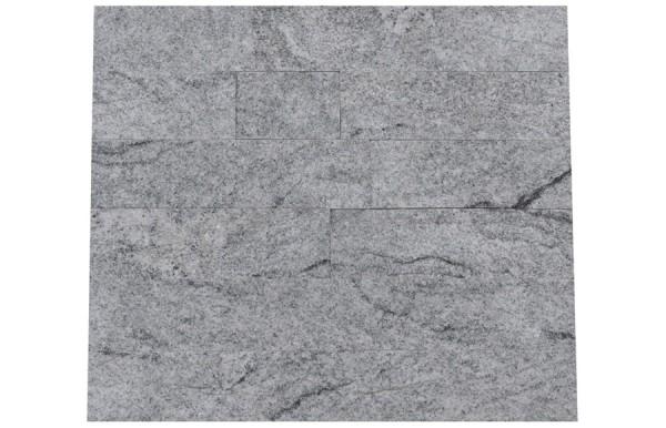 Granit Verblender Viskont White spaltrau