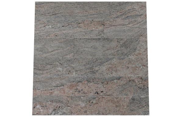 Granit Verblender Juparana Colombo spaltrau