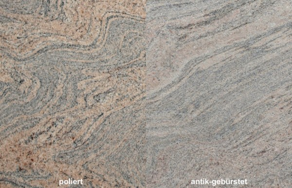Terrassenplatten Granit Juparana Colombo 1