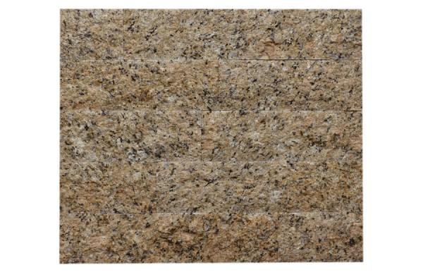 Granit-Verblender Giallo Venezia spaltrau