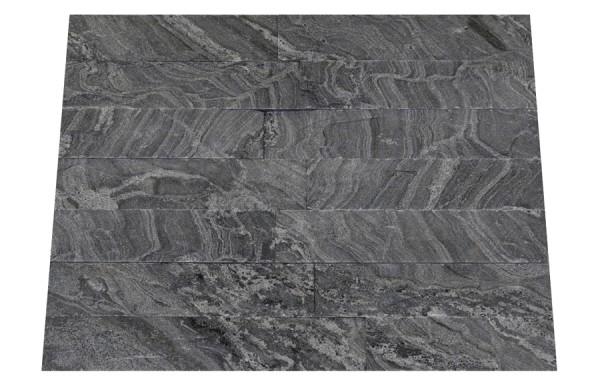 Granit-Verblender Silver Forest spaltrau